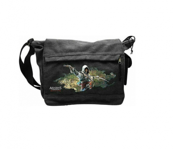 Geanta Mesager Assassin's Creed IV Black Flag Messenger Bag 0