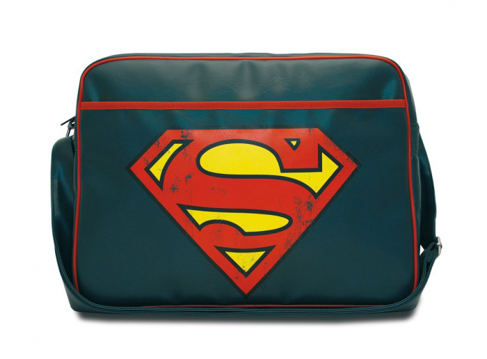 Geanta Mesager DC Comics Superman Logo Messenger Bag 0