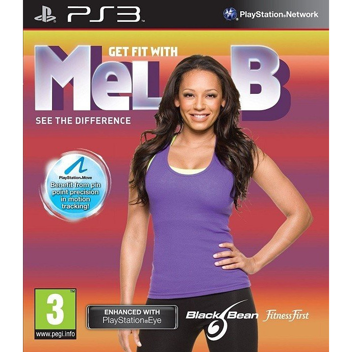 Get fit with Mel B - PS Move - PS 3 0