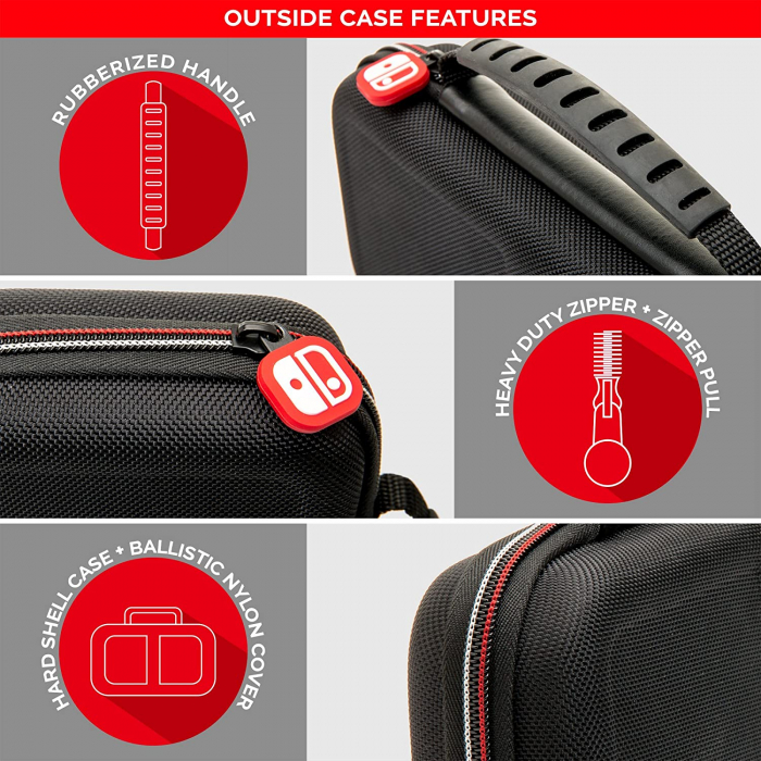 Husa Officially Licensed Game Traveller Deluxe Travel Case Nintendo Switch [4]