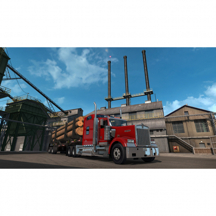 Joc American Truck Simulator Oregon Add On pentru Calculator 2