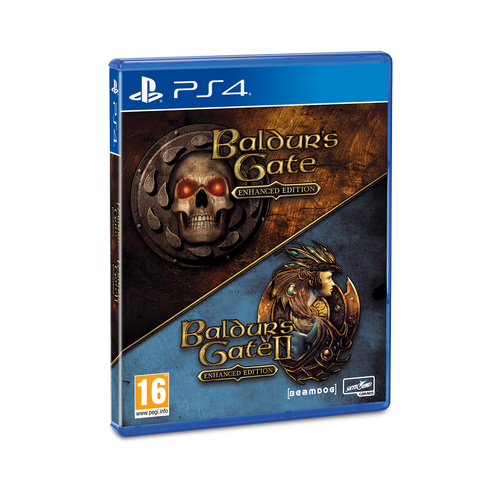 Joc BALDURS GATE ENHANCED & BALDURS GATE 2 pentru Playstation 4 0