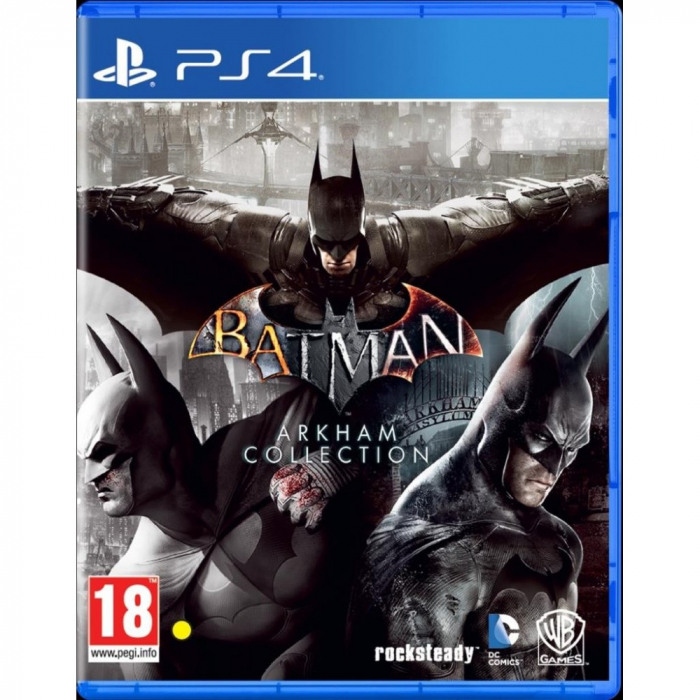 Joc BATMAN ARKHAM COLLECTION - PS4 0