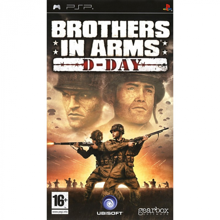 Joc Brothers In Arms D-Day Psp 0