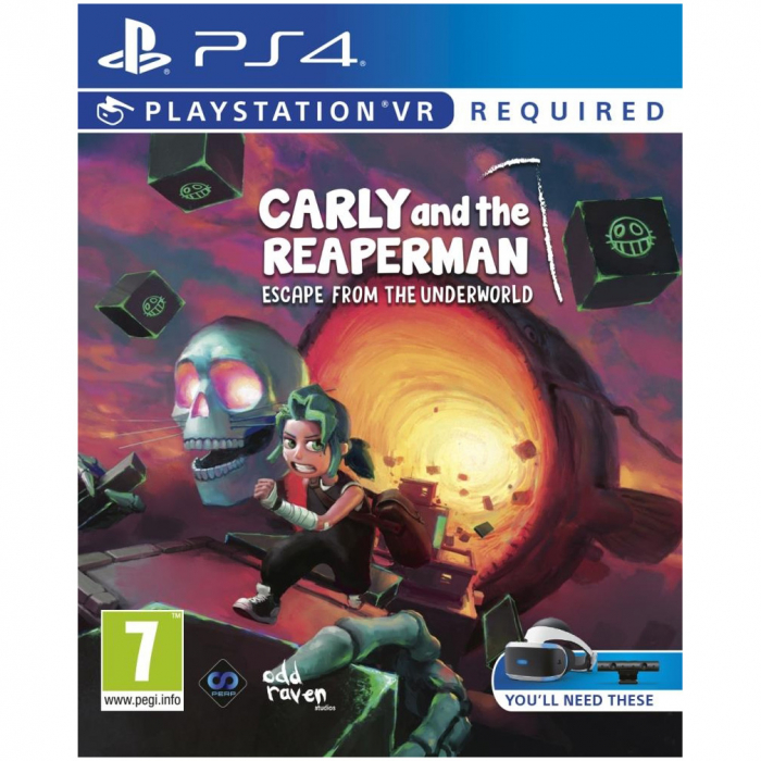 Joc Carly and the Reaperman: Escape from the Underworld VR pentru PlayStation 4 0
