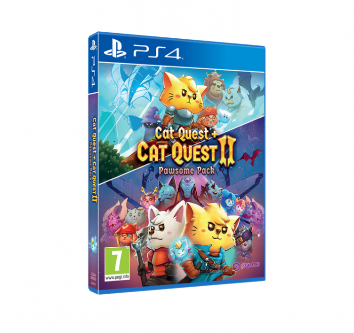 Joc Cat Quest & Cat Quest II: Pawsome Pack PS4 0