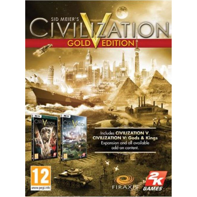 Joc Civilization V Gold Edition Steam Key Global PC (Cod Activare Instant) 0