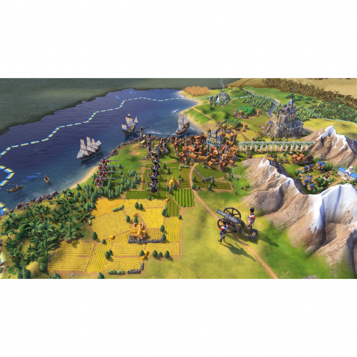 Joc Civilization VI Digital Deluxe Steam Key Europe PC (Cod Activare Instant) 1