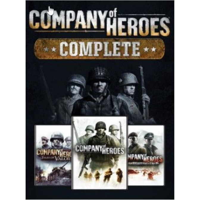 Joc Company of Heroes Complete Edition Steam Key Europe PC (Cod Activare Instant) 0