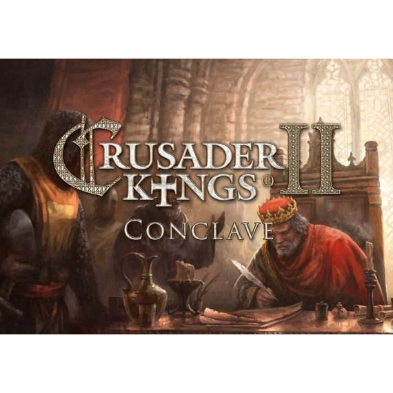 Joc Crusader Kings II - Conclave DLC Steam Key Global PC (Cod Activare Instant) 0