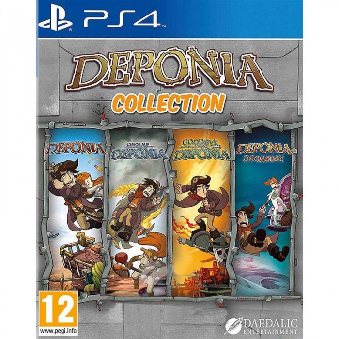Joc Deponia Collection Ps4 [0]