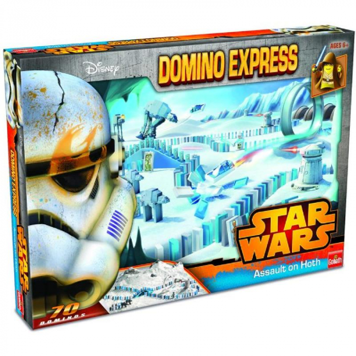 Joc Domino Star Wars Assault on Hoth, 70 de piese 0
