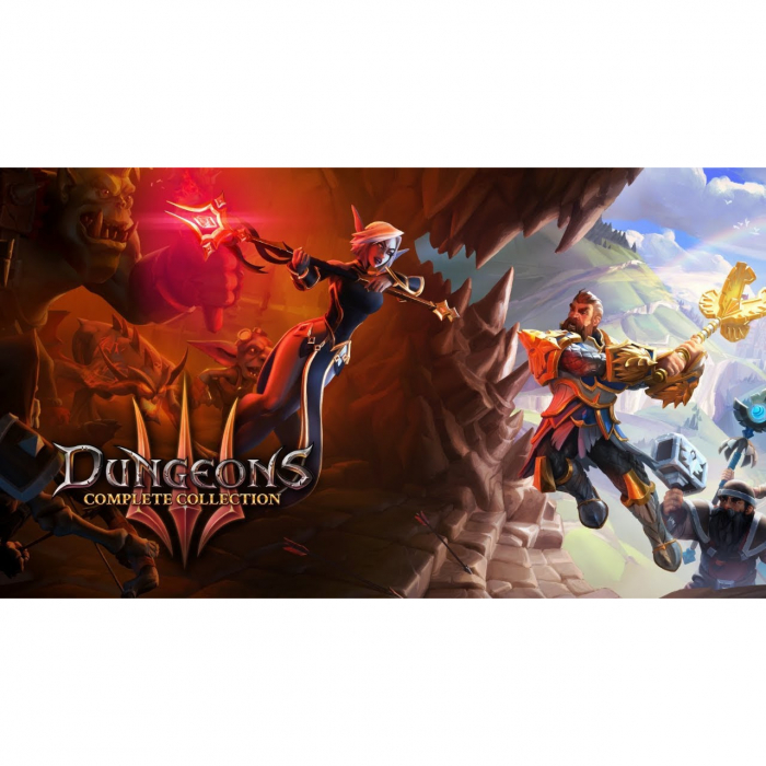 Joc Dungeons 3 Complete Collection Steam Key Global PC (Cod Activare Instant) 0