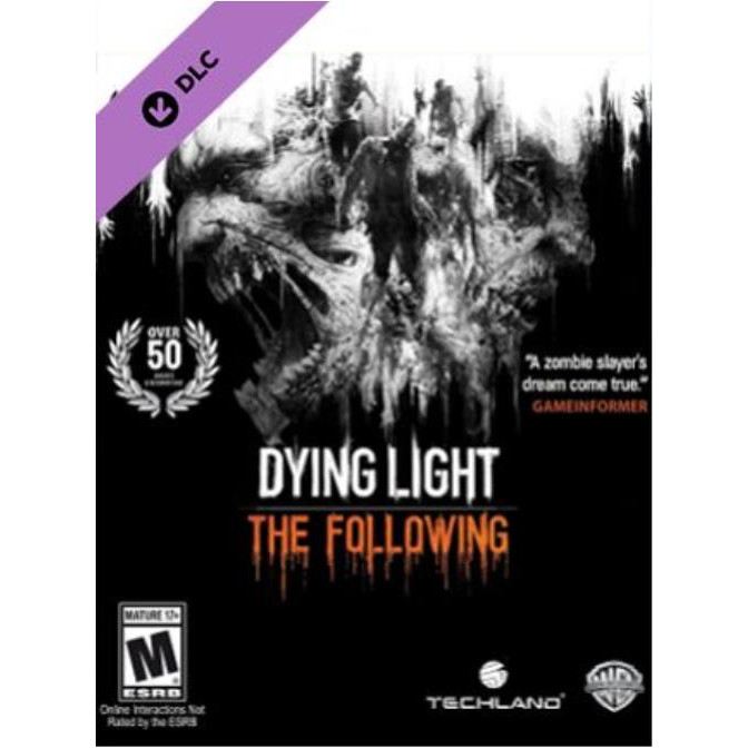 Joc Dying Light - The Following DLC Steam Key Global PC (Cod Activare Instant) 0