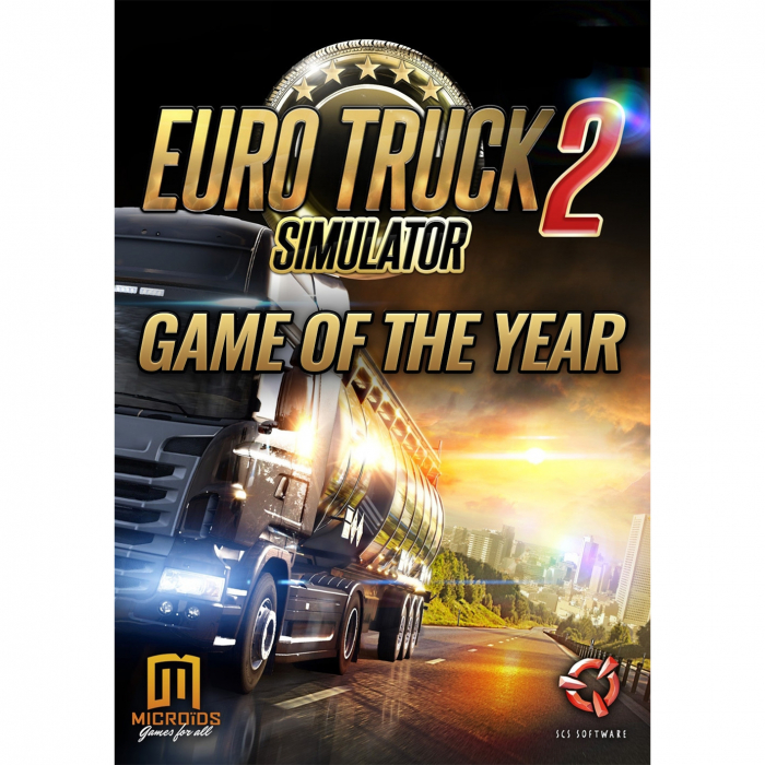 Joc Euro Truck Simulator 2 GOTY + Scania Steam Key Global PC (Cod Activare Instant) 0