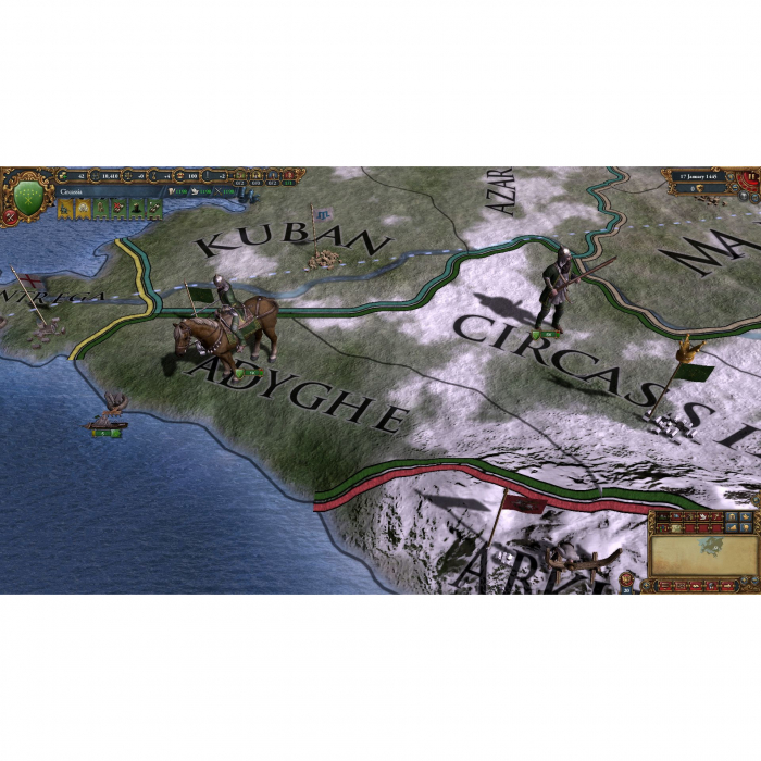 Joc Europa Universalis IV - Cossacks Content Pack DLC Steam Key Global PC (Cod Activare Instant) 3