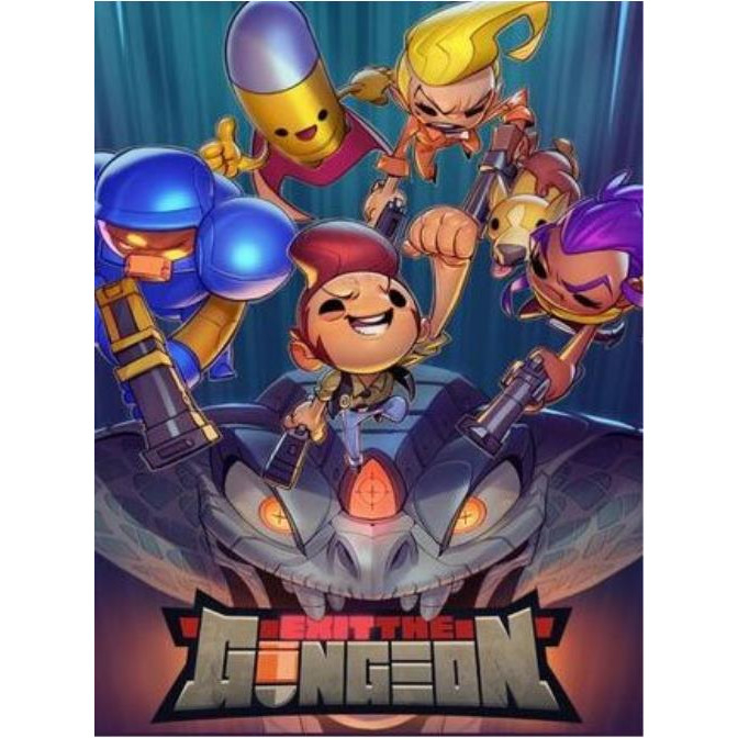 Joc Exit The Gungeon Steam Key Global PC (Cod Activare Instant) 0
