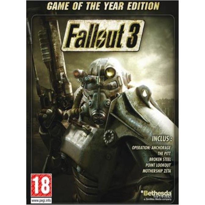 Joc Fallout 3 GOTY Steam Key Global PC (Cod Activare Instant) 0