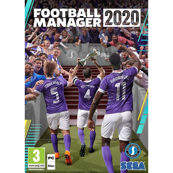 Joc FOOTBALL MANAGER 2020 STEAM KEY Pentru Calculator 0