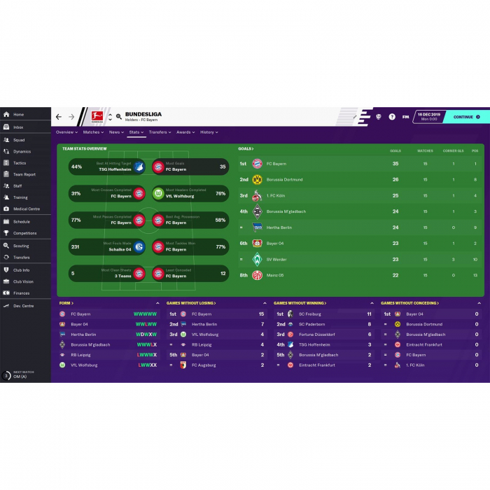 Joc FOOTBALL MANAGER 2020 STEAM KEY Pentru Calculator 3