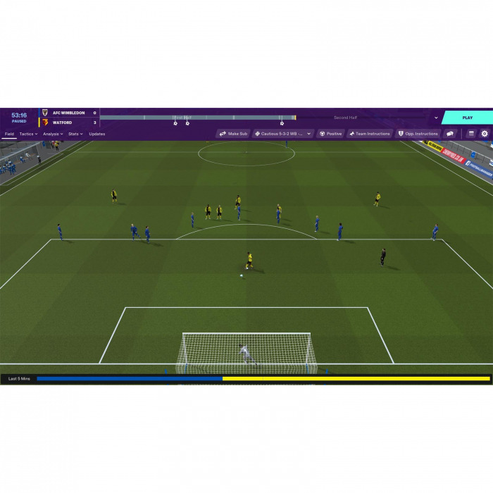 Joc FOOTBALL MANAGER 2020 STEAM KEY Pentru Calculator 4