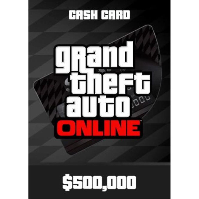 Joc GTA V - Bull Shark Cash Card 500K Rockstar Social Club Key Global PC (Cod Activare Instant) 0