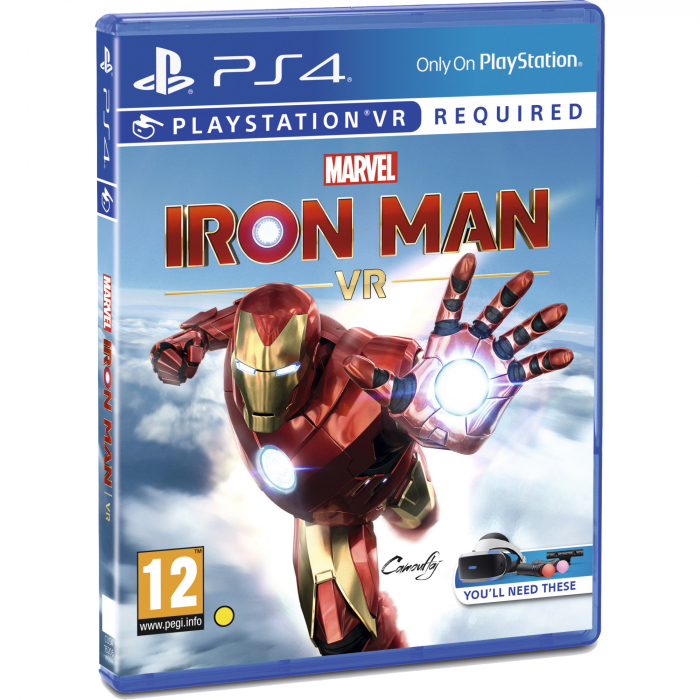 Joc IRON MAN VR pentru PlayStation 4 + PlayStation Move Twin Pack Bundle 2