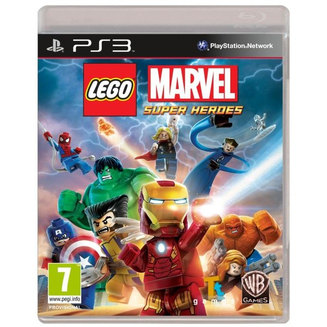 Joc LEGO Marvel Super Heroes PS3 0