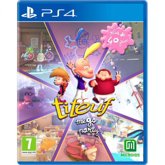 Joc Mega Party A Tootuff Adventure pentru PlayStation 4 0