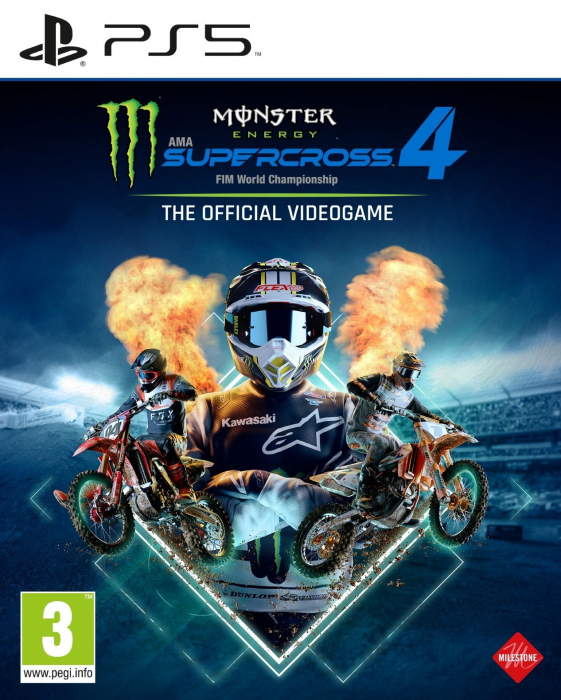 Joc Monster Energy Supercross 4 Pentru PlayStation 5 0