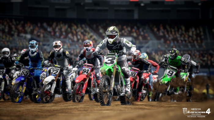 Joc Monster Energy Supercross 4 Pentru PlayStation 5 5