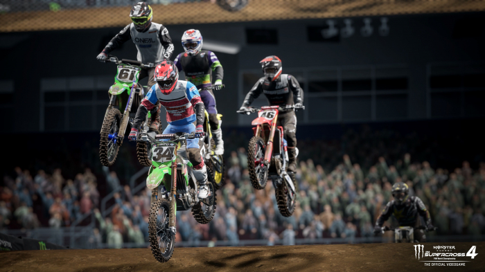 Joc Monster Energy Supercross 4 Pentru PlayStation 5 8