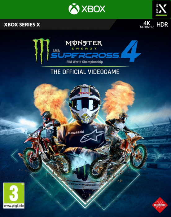 Joc Monster Energy Supercross 4 Pentru Xbox Series X 0
