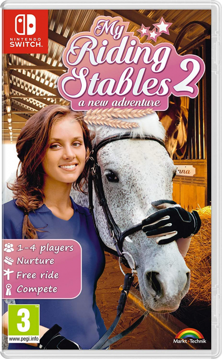 Joc My Riding Stables 2 A New Adventure Pentru Nintendo Switch 0
