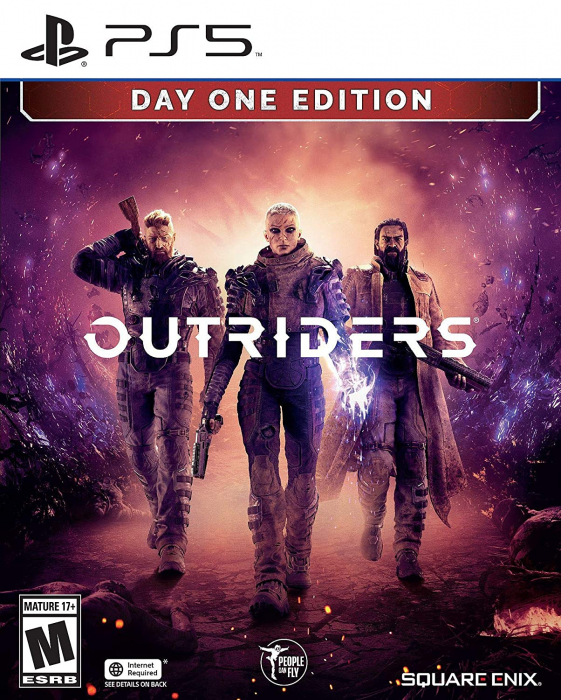 Joc Outriders: Day One Edition pentru PlayStation 5 0