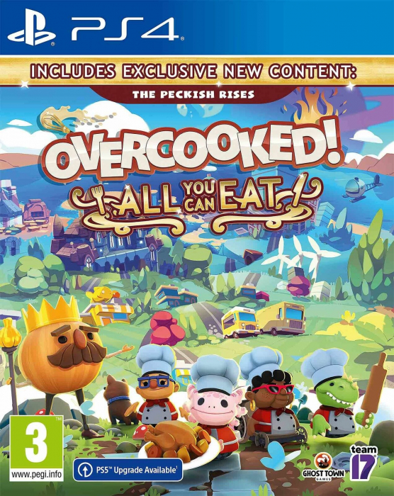 Joc Overcooked! All You Can Eat pentru PlayStation 4 0