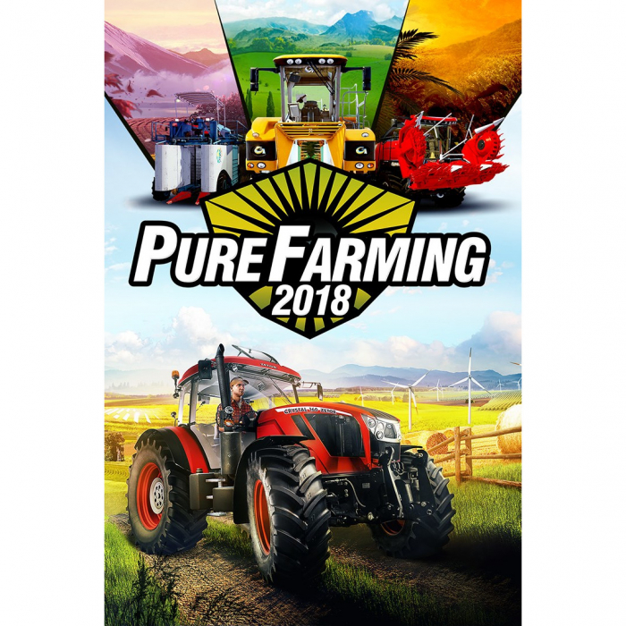 Joc Pure Farming 18 Day One Edition Steam Key Global PC (Cod Activare Instant) 0