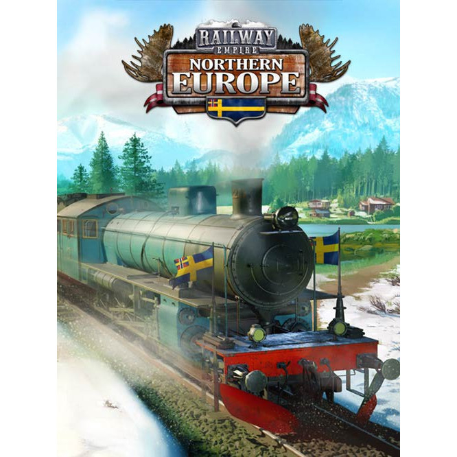 Joc Railway Empire - Northern Europe DLC Steam Key Global PC (Cod Activare Instant) 0
