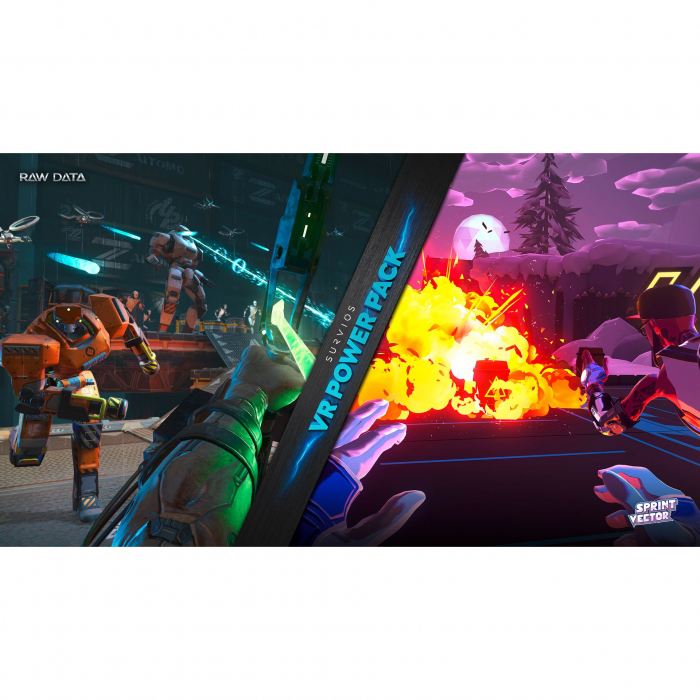 Joc Raw Data Sprint Vector Double Pack pentru PlayStation 4 5