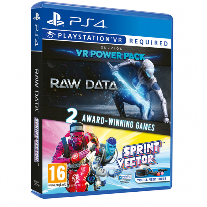 Joc Raw Data Sprint Vector Double Pack pentru PlayStation 4 0