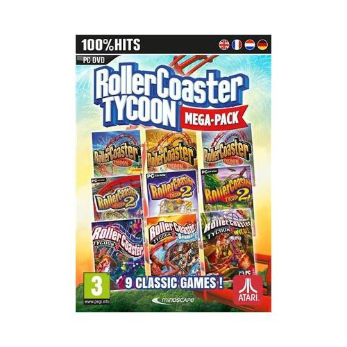 Joc Rollercoaster Tycoon 9 Game Megapack Pc 0