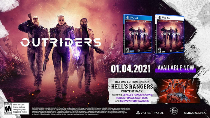 Joc Outriders: Day One Edition pentru PlayStation 4 3