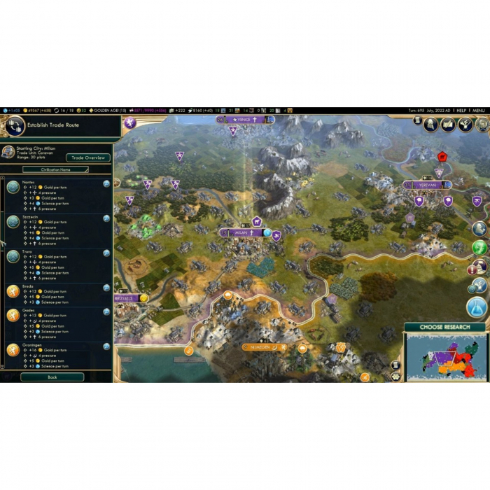 Joc Sid Meier's Civilization V Complete Edition Steam Key Pentru Calculator 5