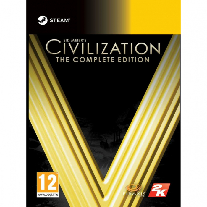 Joc Sid Meier's Civilization V Complete Edition Steam Key Pentru Calculator 0
