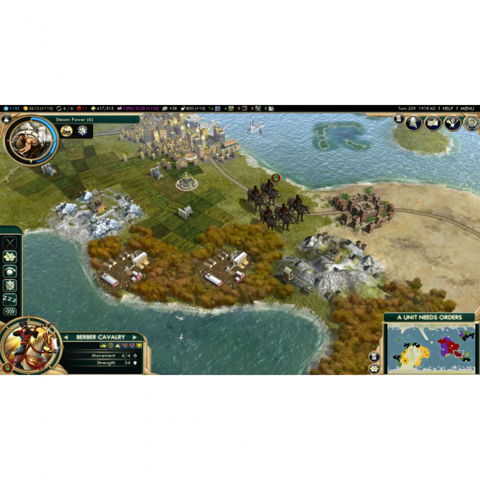 Joc Sid Meier's Civilization V Complete Edition Steam Key Pentru Calculator 6