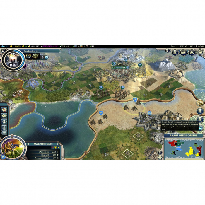 Joc Sid Meier's Civilization V Complete Edition Steam Key Pentru Calculator 3