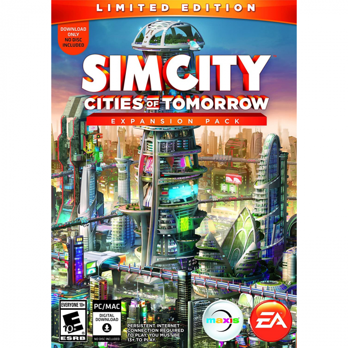 Joc SimCity - Cities of Tomorrow Limited Edition DLC Origin Key Global PC (Cod Activare Instant) 0
