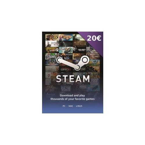 Joc Steam Wallet 20 Euro Cd-Key 0