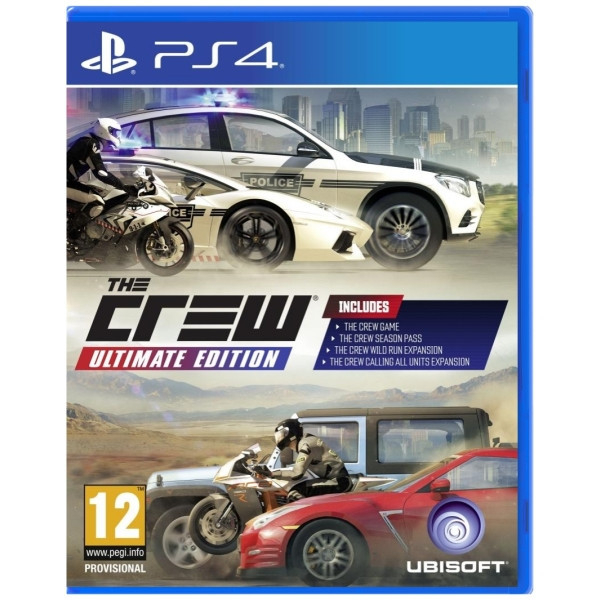 Joc The Crew Ultimate Edition PS4 0