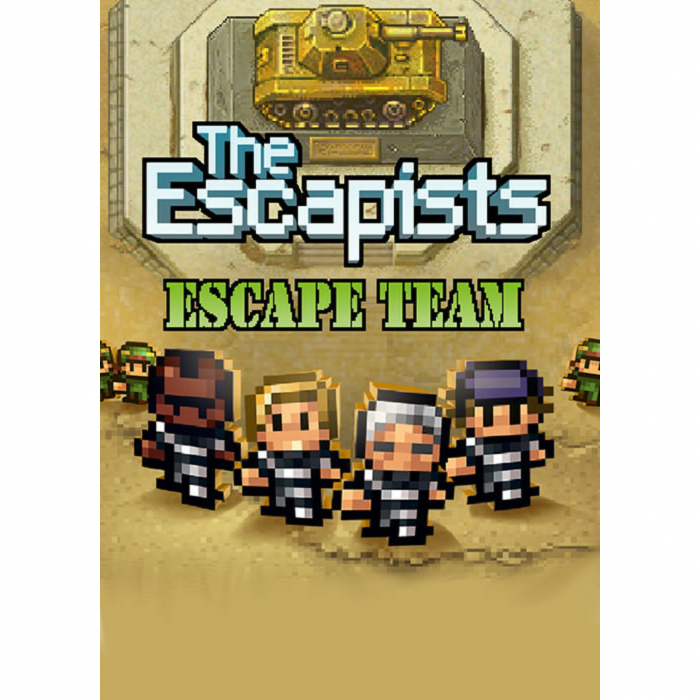 Joc The Escapists - Escape Team DLC Steam Key Global PC (Cod Activare Instant) 0